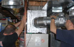 Example of air conditioning repair in Williamsburg and Newport news